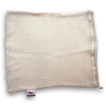 Bag-again, Siatka z organicznej bawełny na owoce i warzywa L, 38 x 30 cm BAG-AGAIN