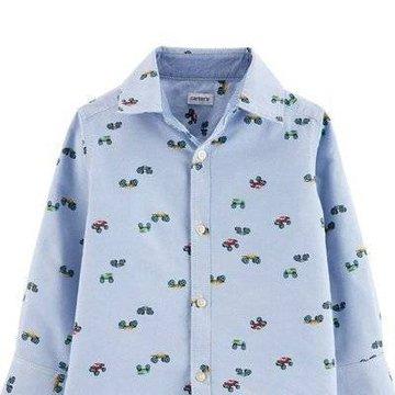Carter's - Koszula z drobnym nadrukiem - 104 cm