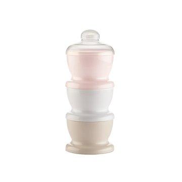 Pojemnik na mleko w proszku Thermobaby; różowy