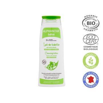 Alphanova Bebe Organiczne mleczko z oliwą do mycia niemowląt, 200 ml ALPHANOVA BEBE