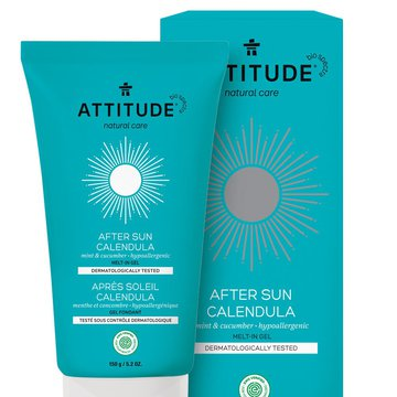 Attitude After Sun żel nagietkowy Mint & Cucumber 150 g ATTITUDE