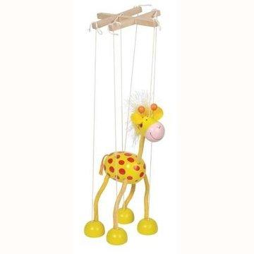 Goki® - Drewniana marionetka postać Żyrafa, Goki 51867