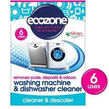 Ecozone, Środek do Czyszczenia Pralek i Zmywarek, 6 tabletek ECOZONE