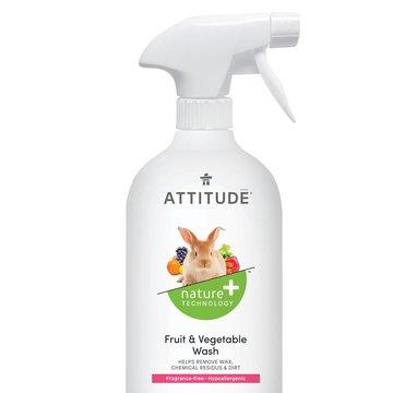 Attitude, Płyn do mycia owoców i warzyw, Bezzapachowy, 800 ml ATTITUDE