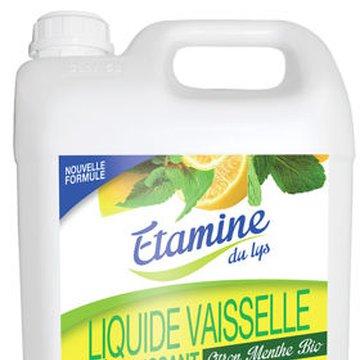 Etamine du Lys, Płyn do Mycia Naczyń Organiczna Cytryna i Mięta Kanister, 5000 ml