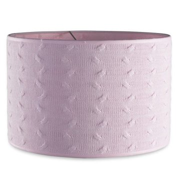 Baby's Only, Cable Baby Pink Abażur na lampę, Różowy, 30 cm SUPER PROMOCJA -50% BABY'S ONLY