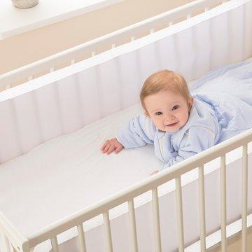 Oddychający ochraniacz do łóżeczka Pur Air PurFlo - Soft White Purflo