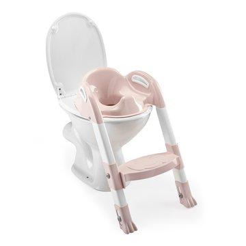 Nakładka na WC ze stopniem Thermobaby; różowa