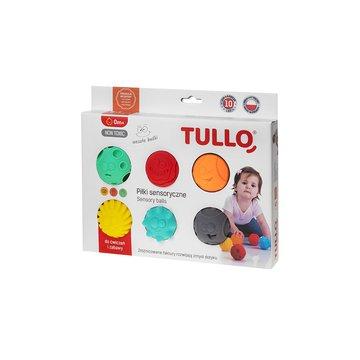 TULLO 462 Piłki sensoryczne buźki 6 szt