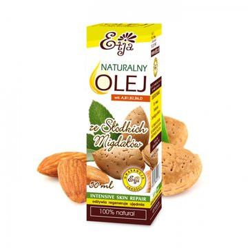 Etja- olejki - Etja, Olej ze Słodkich Migdałów, 50ml