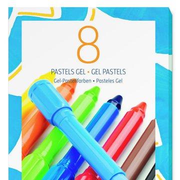 Djeco - Zestaw 8 elowych pasteli klasycznych DJ08812