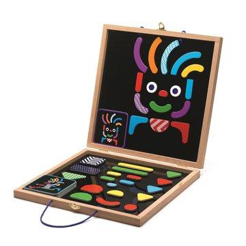 Djeco - Magnesy drewniane w walizce  DJ03136