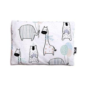 Pulp, poduszka Minky, Żyrafy, 30 x 40 cm