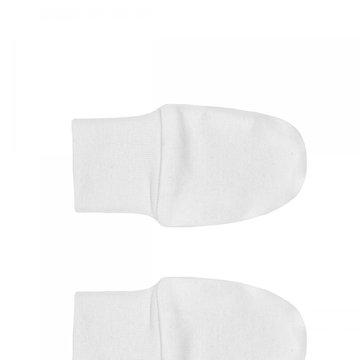 Nanaf Organic, BASIC, Rękawiczki niedrapki, białe