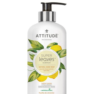 Attitude, Super Leaves, Mydło do rąk, Liście limonki, 473ml ATTITUDE