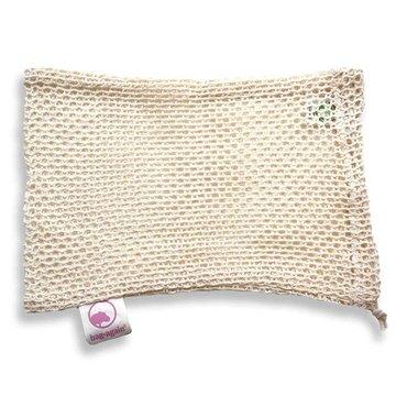 Bag-again, Siatka z organicznej bawełny na owoce i warzywa S, 15 x 25 cm BAG-AGAIN