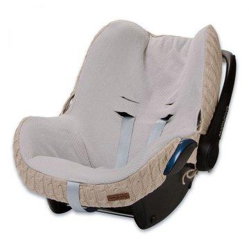 Baby's Only, Cable Beige Ochraniacz na fotelik samochodowy 0+, beżowy,  WYPRZEDAŻ -50% BABY'S ONLY