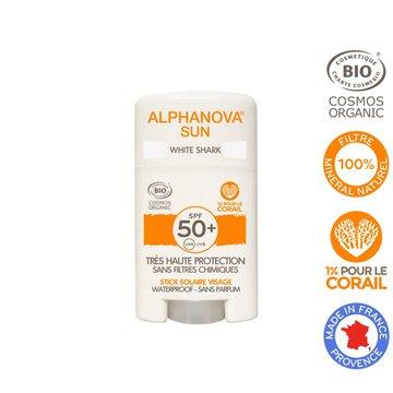 Alphanova Sun, Krem z filtrem w sztyfcie, SPF50+, White Shark, 12 g ALPHANOVA SUN