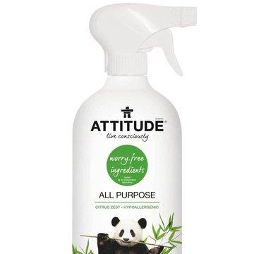 Attitude, Płyn do czyszczenia twardych powierzchni, Uniwersalny, 800ml ATTITUDE