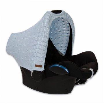 Baby's Only, PROMOCJA -50%, Cable Baby Blue Daszek wymienny na fotelik samochodowy 0+, Niebieski, WYPRZEDAŻ BABY'S ONLY