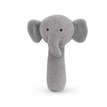 Jollein - Baby & Kids - Jollein - miękka grzechotka Elephant Storm Grey