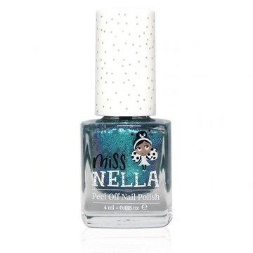 MISS NELLA - Bezzapachowy lakier do paznokci dla dzieci PEEL OFF Blue the Candles Miss Nella