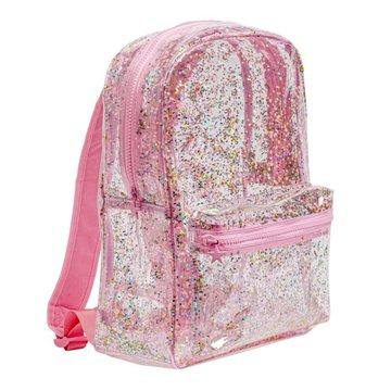 A Little Lovely Company - Lśniący plecak GLITTER PINK