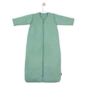 Jollein - Baby & Kids - Jollein - Śpiworek niemowlęcy całoroczny 4 pory roku z odpinanymi rękawami Rib Forest Green 70 cm