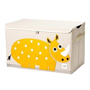 3 Sprouts Pudełko Zamykane Nosorożec