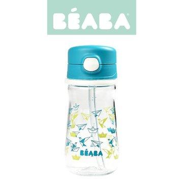 Beaba Butelka-bidon tritanowa ze słomką 350 ml Dark blue