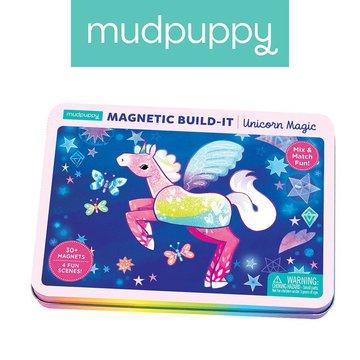 Mudpuppy Magnetyczne konstrukcje Magiczne Jednorożce 4+