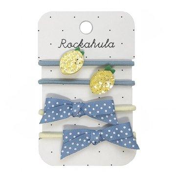 Rockahula Kids - gumki do włosów Lemon Ponies