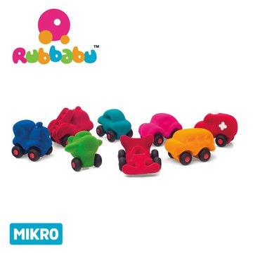 Rubbabu Zestaw 8 sensorycznych mikro - pojazdów