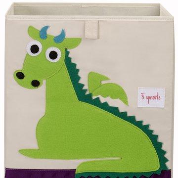 3 Sprouts Pudełko Na Zabawki Smok
