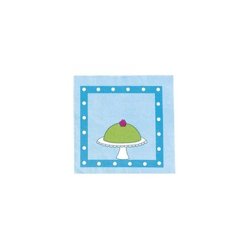 JaBaDaBaDo - Niebieskie serwetki urodzinowe