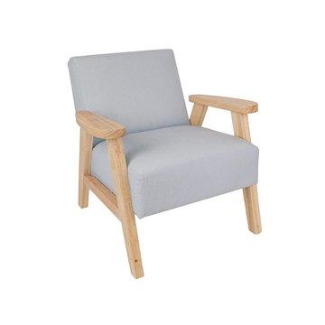Fotel dziecięcy szary Jabadabado JaBaDaBaDo
