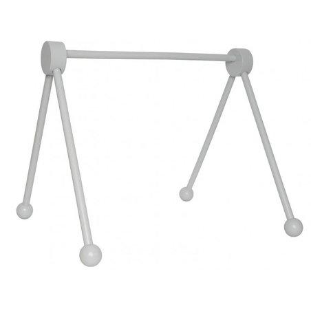 JaBaDaBaDo - Drewniany stojak edukacyjny -baby gym szary