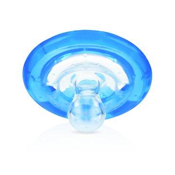 Nuby Smoczek silikonowy Natural Flex Cherry (0-6m) Niebieski ID5787SACSBLUE