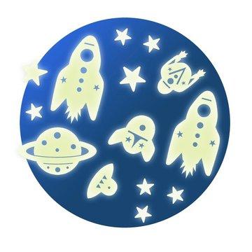 Djeco - Fluorescencyjne naklejki KOSMOS DD04591