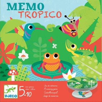 Djeco - Gra edukacyjna Memo Tropico DJ08444
