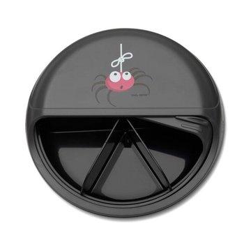 Carl Oscar Rotable SnackDISC™ 5 komorowy obrotowy pojemnik na przekąski Grey - Spider CARL OSCAR