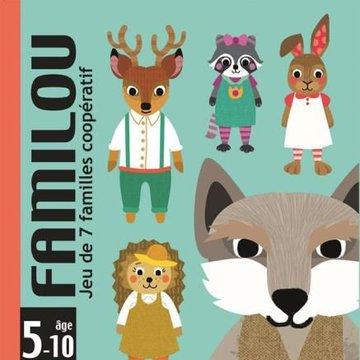 Djeco - Gra karciana FAMILOU DJ05103