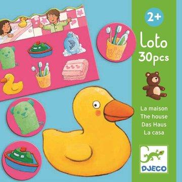 Djeco - Gra edukacyjna loto DOM DJ08121