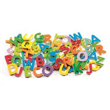 Djeco - Kolorowe literki magnetyczne 83 szt DJ03101