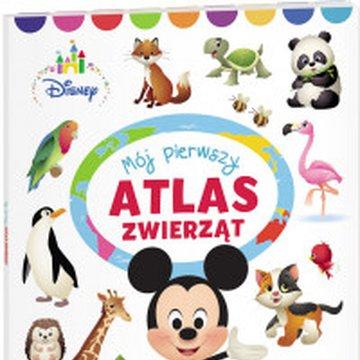 Ameet - Disney Maluch. Mój pierwszy atlas zwierząt