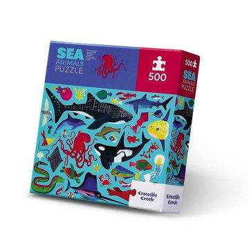 Crocodile Creek® - Puzzle 500 elem. Zwierzęta morskie