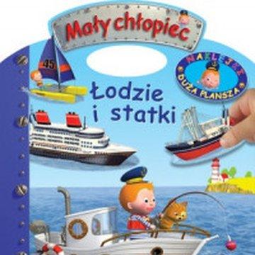 Olesiejuk Sp. z o.o. - Mały chłopiec. Łodzie i statki