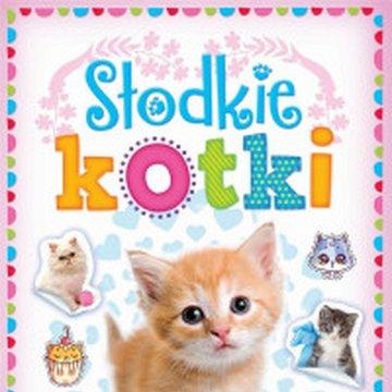 Aksjomat - Minialbum z naklejkami. Słodkie kotki