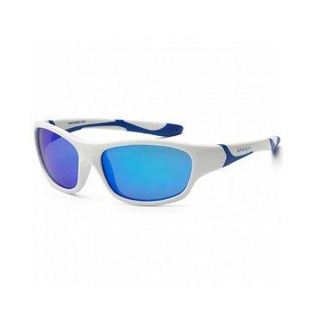 KOOLSUN Okulary SPORT White Royal Blue 3-8 Koolsun
