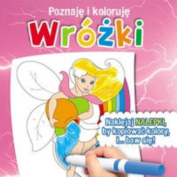 Olesiejuk Sp. z o.o. - Wróżki. Poznaję i koloruję